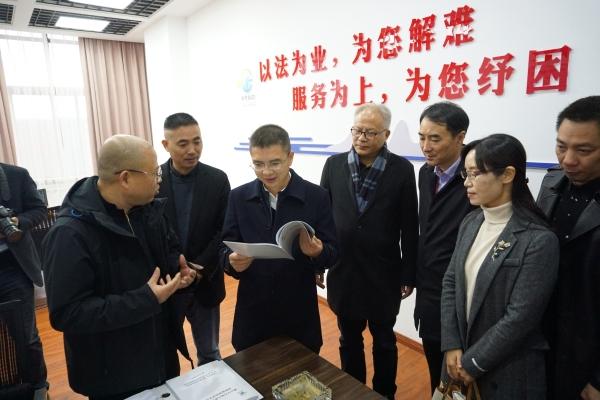 徐晓波副厅长调研衢州市市场主体法律顾问服务网格化全覆盖工作图片