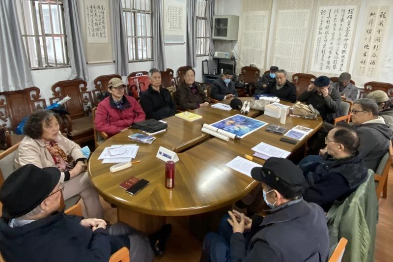 上海交通大学东方艺术交流中心举行新一届会员会议