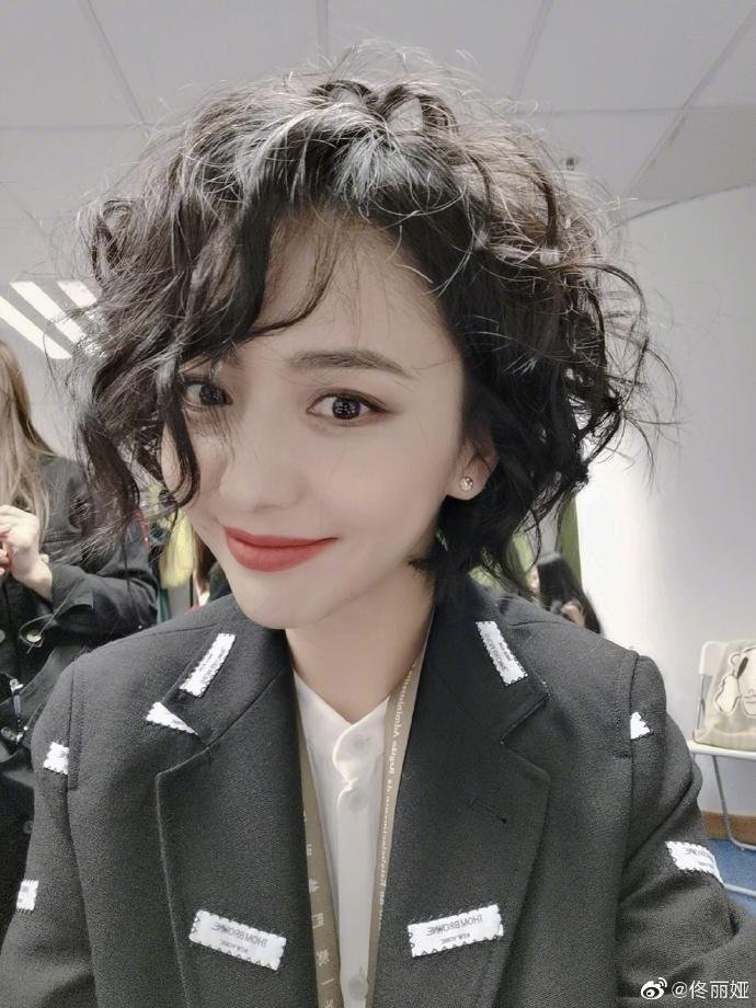 佟丽娅(资料图图据佟丽娅微博)
