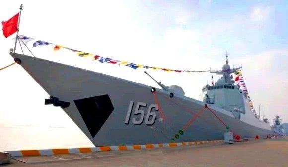 山东舰队又添新主力!首艘052D改舰正式服役 055舰之