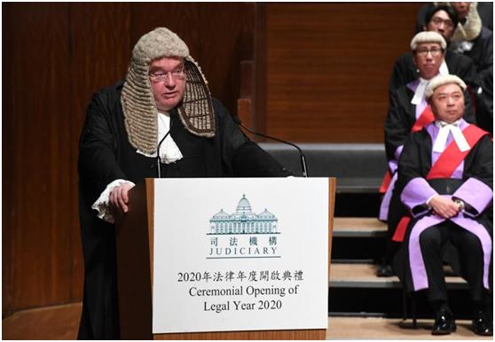 香港大律师公会主席称暴徒品格好 网友:是不是瞎图片