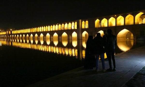 伊斯法罕建于17世纪的廊桥