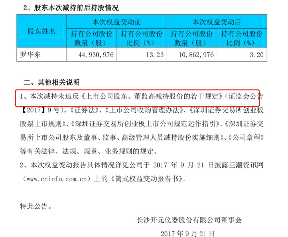 因实控人私下转让5.02%股权未披
