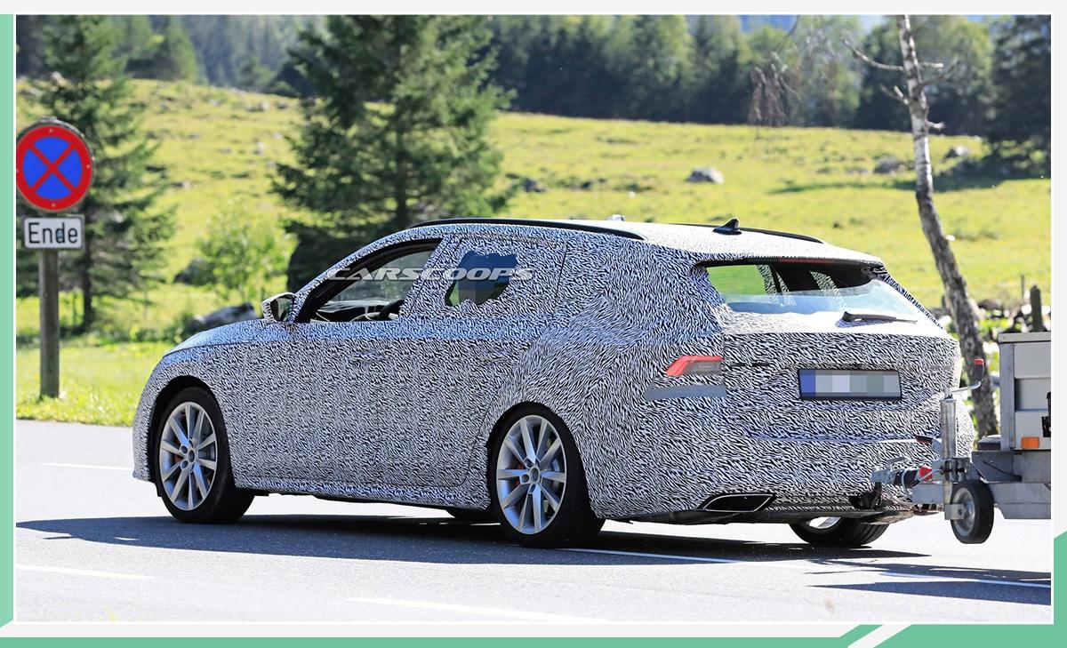斯柯达全新明锐RS效果图曝光 或日内瓦车展亮相