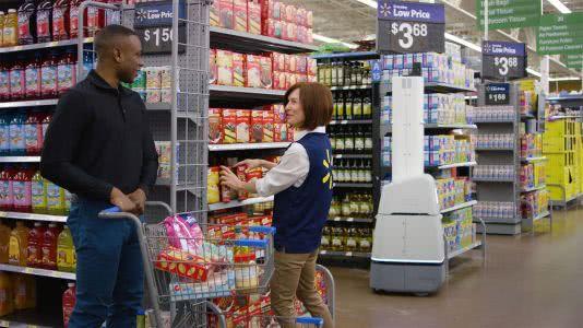 """沃尔玛再添650家""""机器人商店"""",未来零售业一半岗位将被机器取代"""