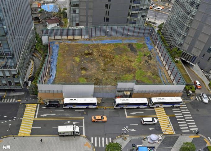 日本驻韩大使馆预定建设地(共同社)