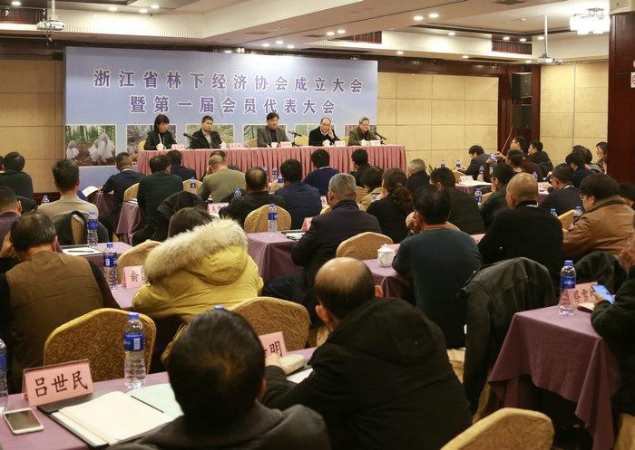 浙江省林下经济协会在杭州成立图片