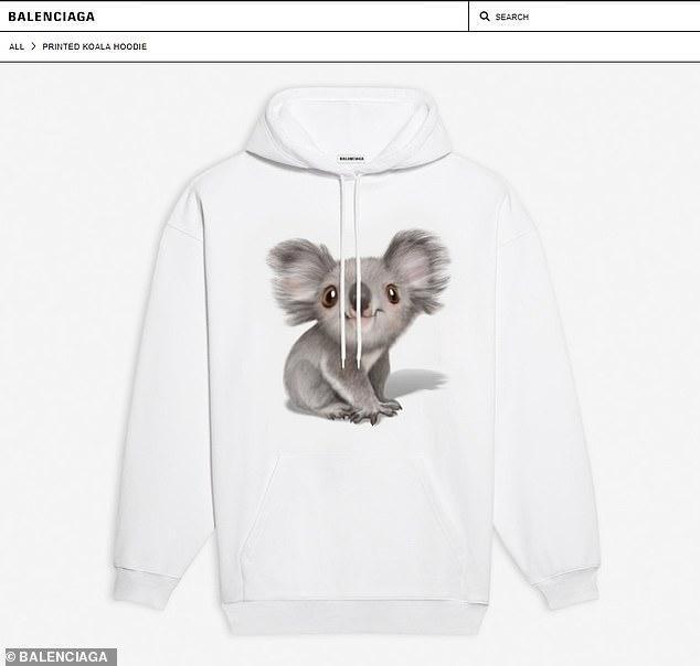 孰对孰错?巴黎世家推出考拉服饰捐助澳洲大火,网友对此褒贬不一