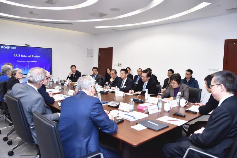 上海交通大学上海高级金融学院顺利完成第二次国际评估