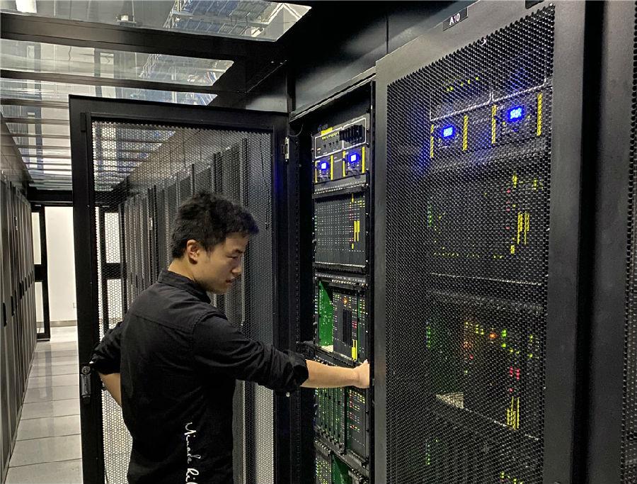 【备战进博会】中国信科全力做好第三届进博会安保、消防及通信网络服务保障工作图片