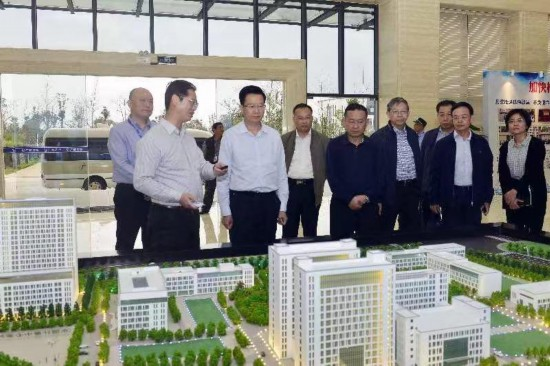 何朝建率队到中国—东盟检验检测认证高技术服务集聚区调研