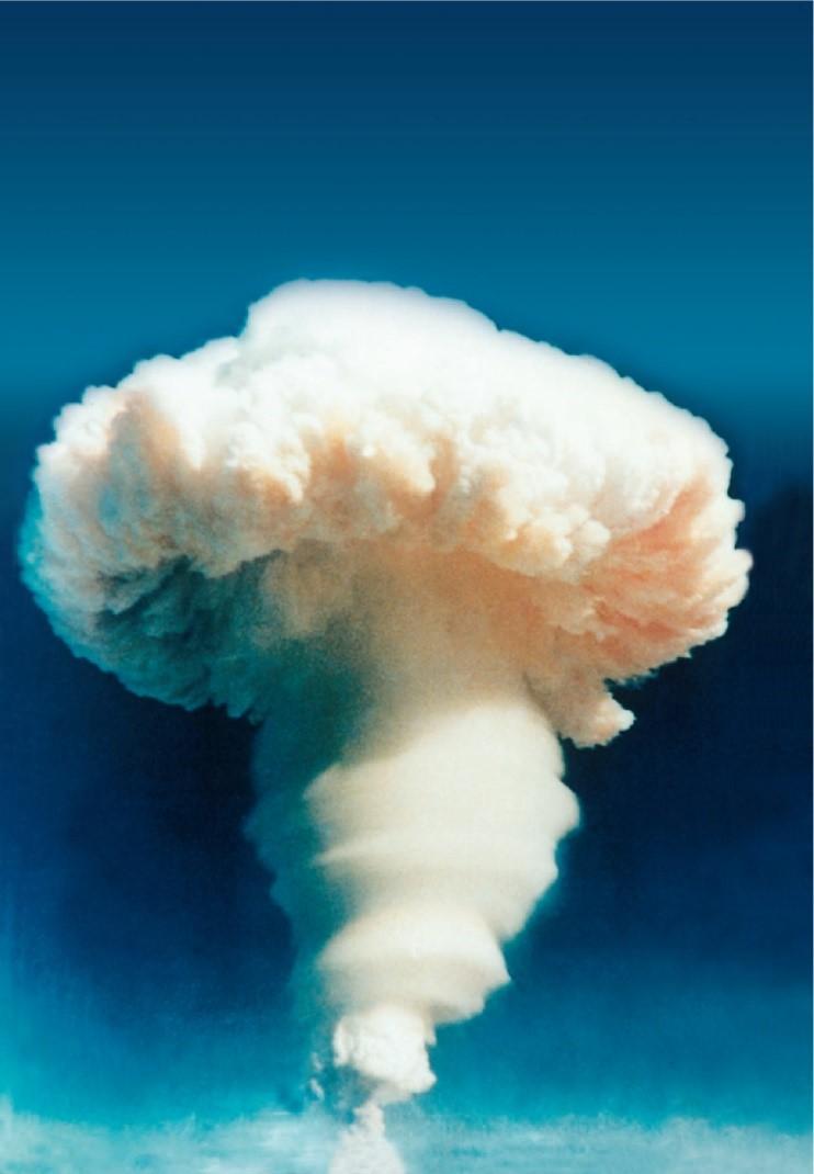 △1967年6月,我国第一颗氢弹试验成功。