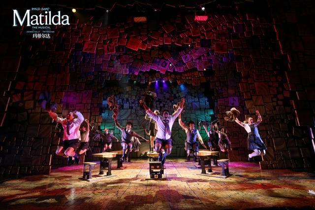 伦敦西区原版音乐剧《玛蒂尔达》即将登陆南京保利大剧院 重磅连演8场