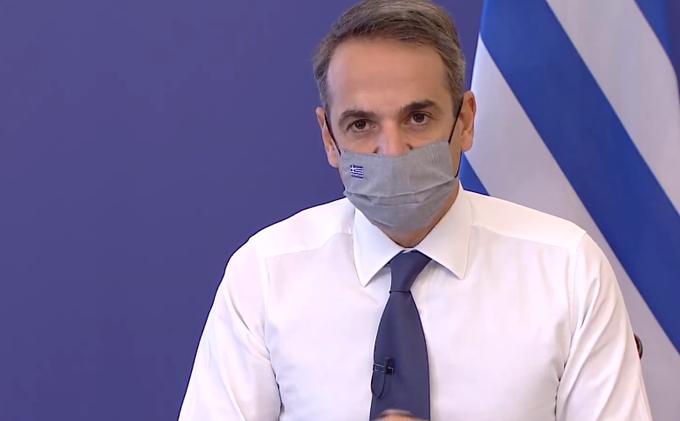 希腊单日确诊现最大增幅 总理宣布重启全国封锁