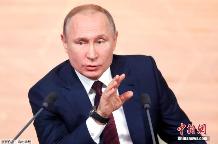 資料圖:俄羅斯總統普京。