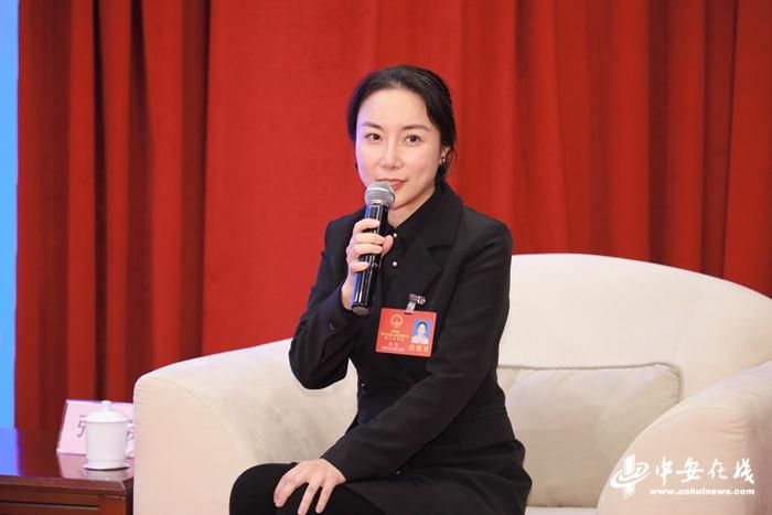 安徽省人大代表张荔发言
