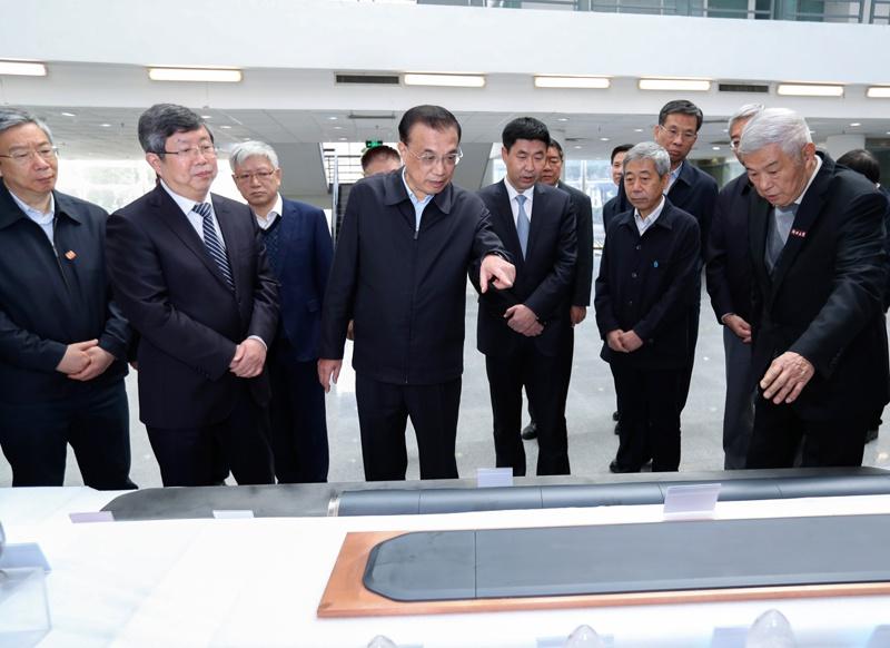 李克强考察郑州大学为何来到这里?图片