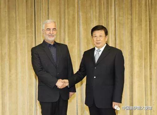 【新闻速递】赵克志会见伊朗禁毒总部秘书伊斯坎德尔·莫梅尼图片