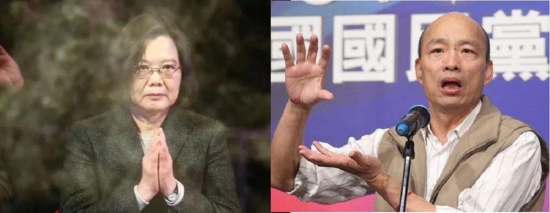 """蔡英文刚连任 就开始""""政治追杀""""韩国瑜图片"""