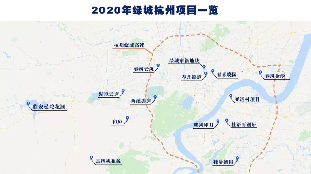 五大新盘外 还有2700套亚运村!2020绿城杭州可售新房指南