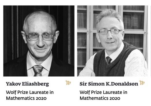 沃尔夫数学奖揭晓:美英数学家因微分几何和拓扑贡献获奖