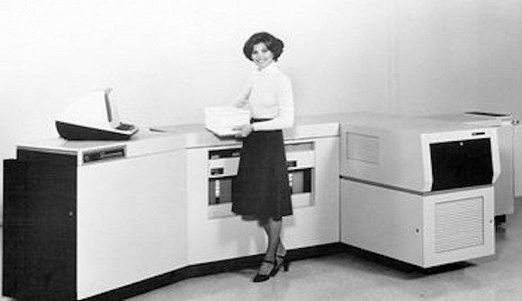 施乐9700打印机。图片来源:Xerox.com