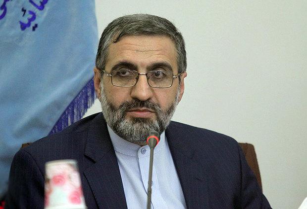 伊朗司法部发言人伊斯梅利,图自德黑兰时报