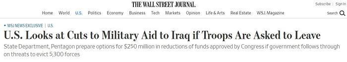 图片来源:《华尔街日报》网页截图。