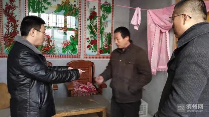 """沾化区教体局开展帮助贫困户学生家庭""""过好年、过暖冬""""活动"""