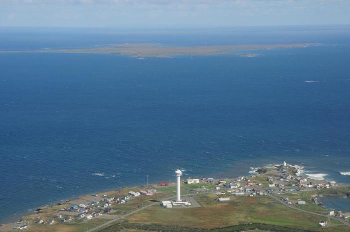 资料图:日俄争议岛屿。图片来源:日本北海道根室市官方网站