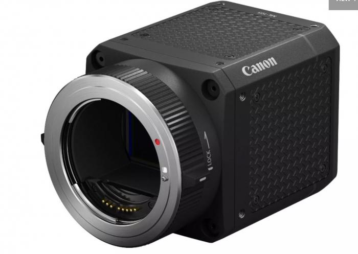佳能宣布推出一系列具有超低感光度的新型多用途全画幅工业相机