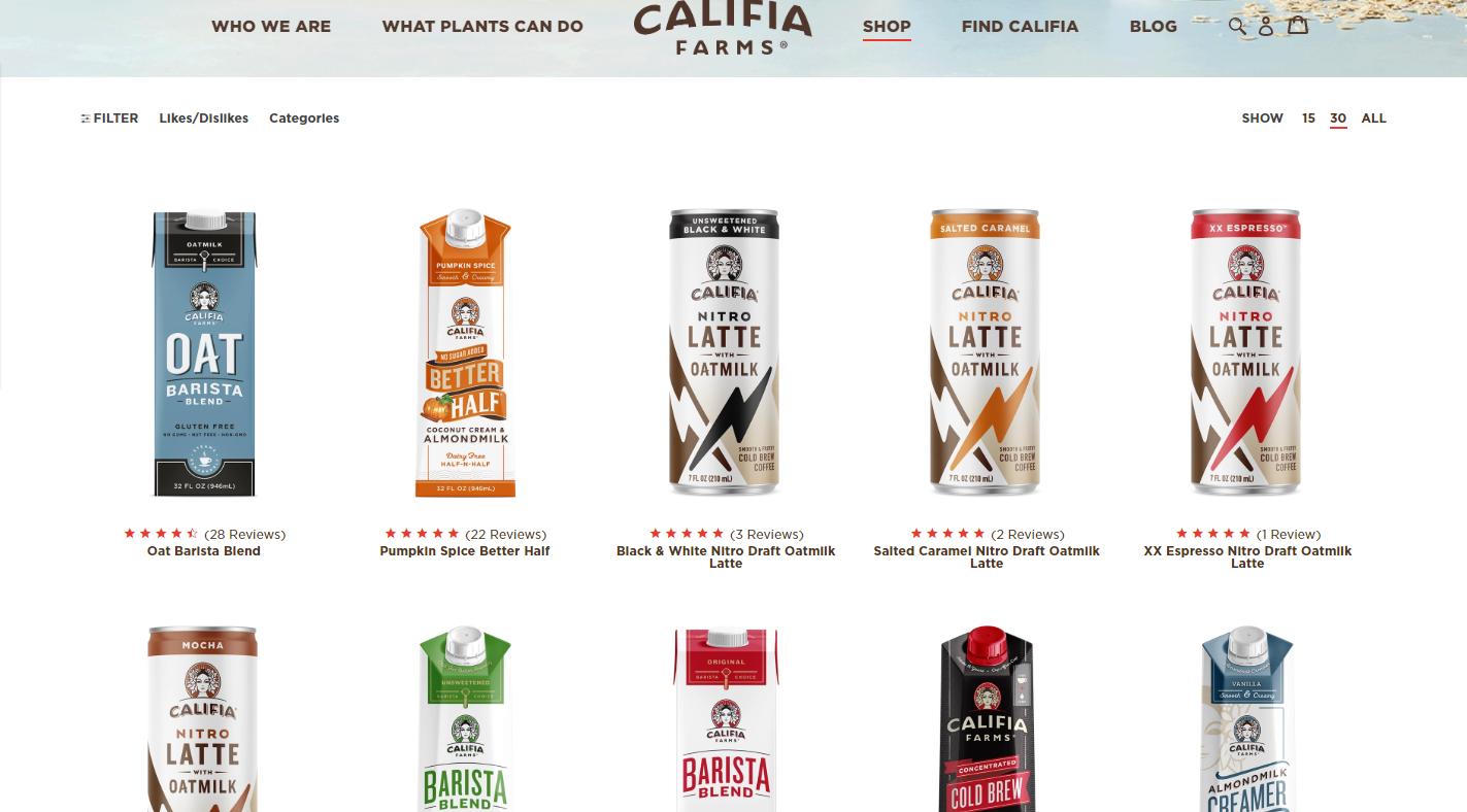 瞄准规模超过1万亿美元的全球乳制品和即饮咖啡产业?「Califia Farms」筹集2.25亿美元D轮融资