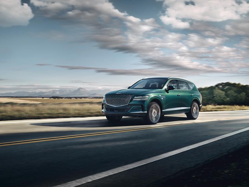 现代捷恩斯发布首款SUV 抢占海外高端车市场