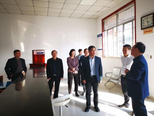 江宇副厅长调研绍兴市越城区村社组织换届选举工作图片