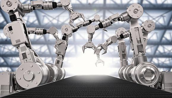 中国工业机器人年度产量首现负增长