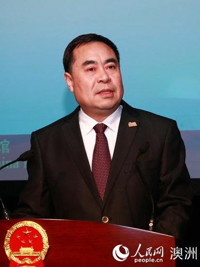 中国驻布里斯班总领馆举行2020年春节招待会