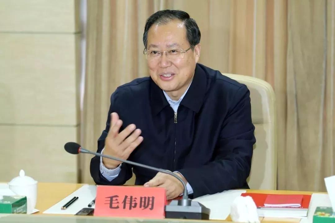 中候补、江西省委常委、副省长毛伟明任国家电网董事长图片