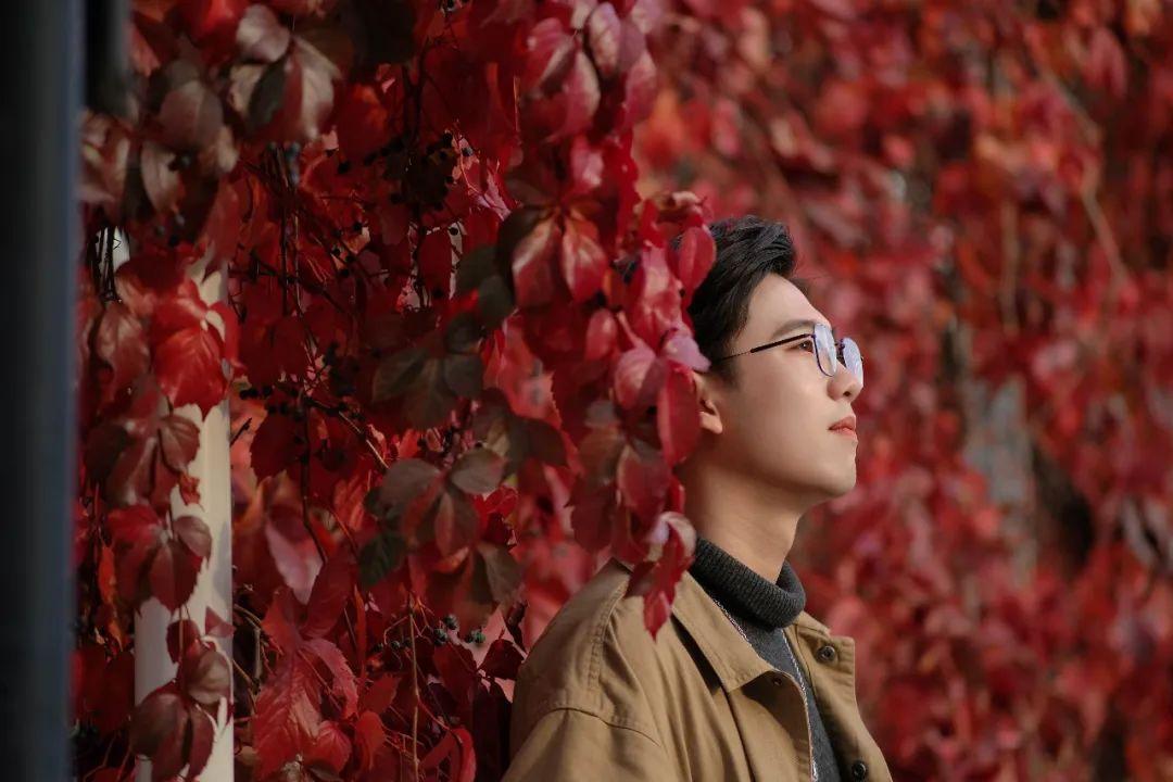 农大印象|温柔的秋,温暖的你图片