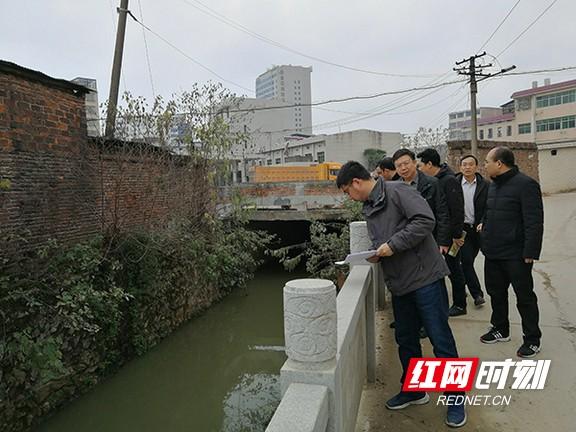 衡阳市河长制考核组到常宁考核2019年河长制工作