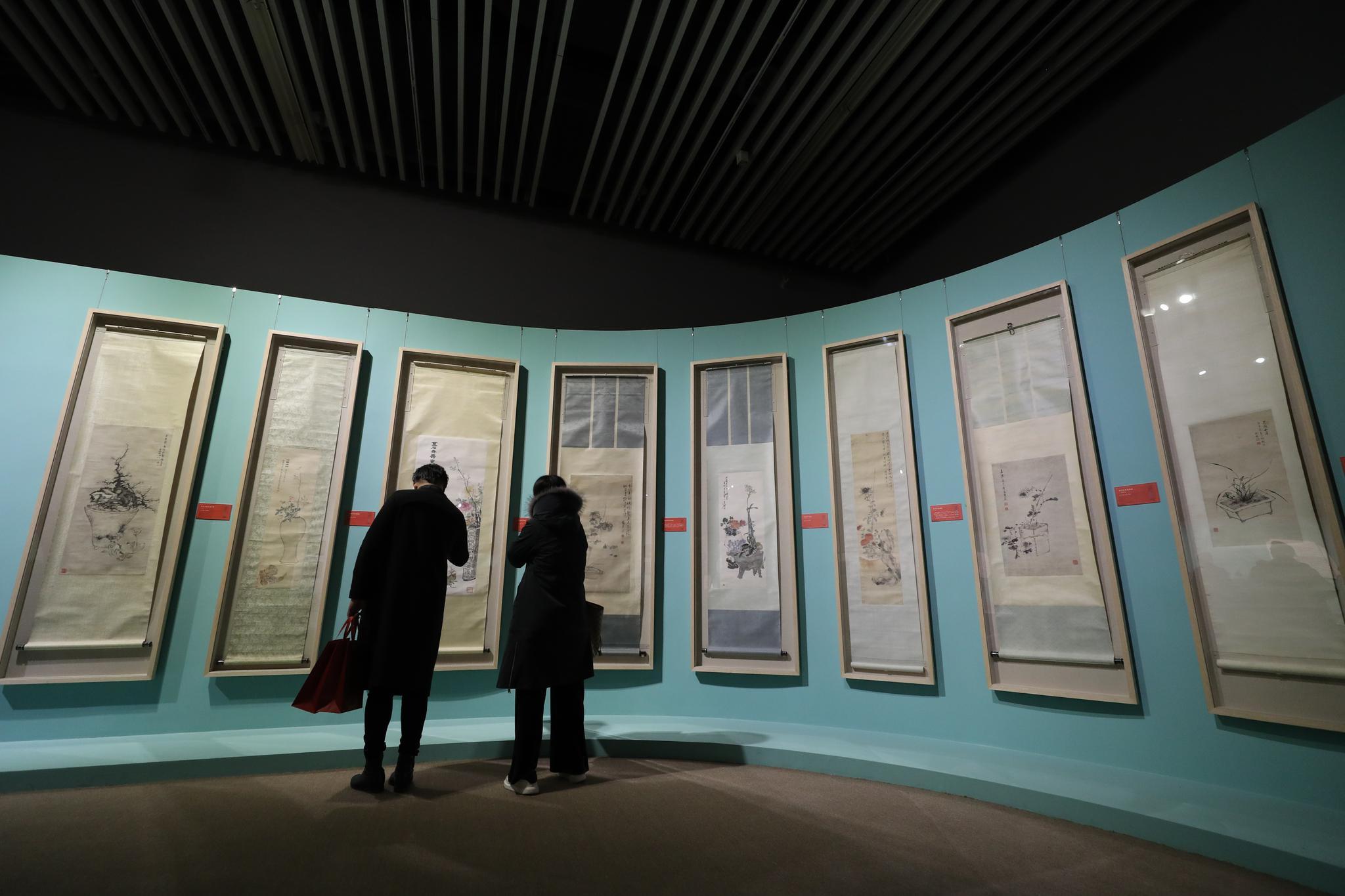园博馆清代盆景文化展今晚开幕 文物均为首次公开展示图片