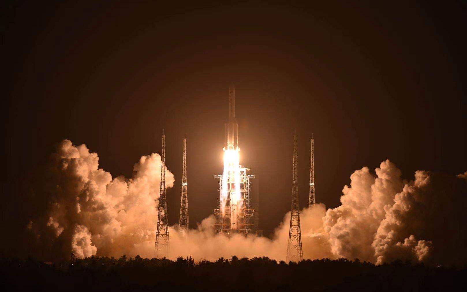 """航天""""超级2020""""发布:超40次发射 三型火箭首飞图片"""