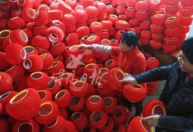 传统工艺里的年味儿,咸阳火罐灯笼照亮新春