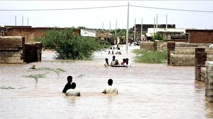 南苏丹洪灾严重 大量儿童健康遭受威胁