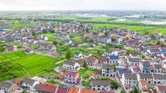 只有整齐划一的楼房和居民小区?委员:这不是我想要的上海农村图片