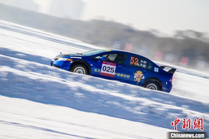 中国冰雪短道汽车拉力锦标赛长春激情开赛