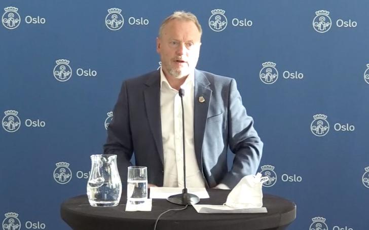 挪威首都奥斯陆收紧疫情管控措施