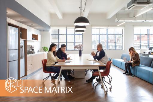 2020年,Space Matrix打造新生代的创意办公空间设计