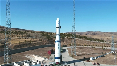 """全球首颗6G试验卫星""""电子科技大学号""""成功升空图片"""