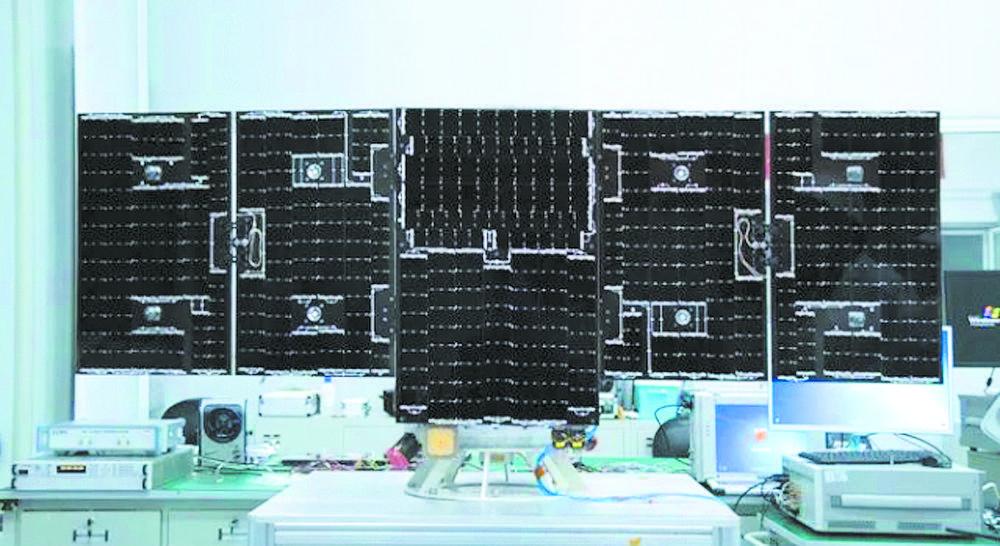 """全球首颗6G试验卫星""""电子科技大学号""""成功发射图片"""