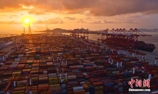 """2019年中国多省区对""""一带一路""""沿线国家进出口贸易额持续增长"""